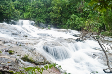 beautiful waterfall in the National Park ,Thailand Stock Photo - 15515968