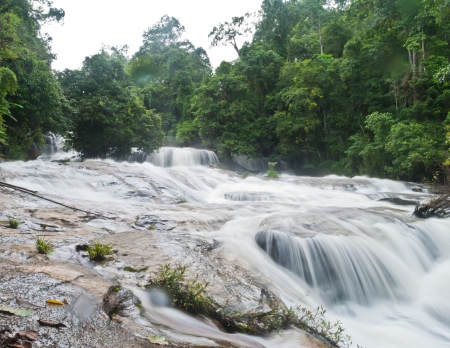 beautiful waterfall in the National Park ,Thailand Stock Photo - 15515821