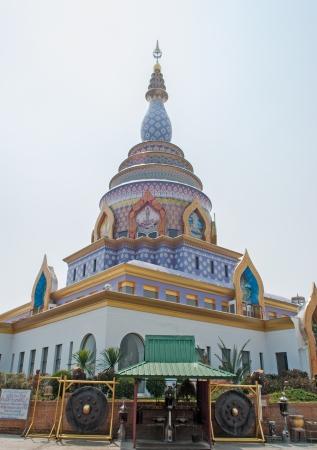 Pagoda at Wat-Ta-Ton Chiangmai,Thailand