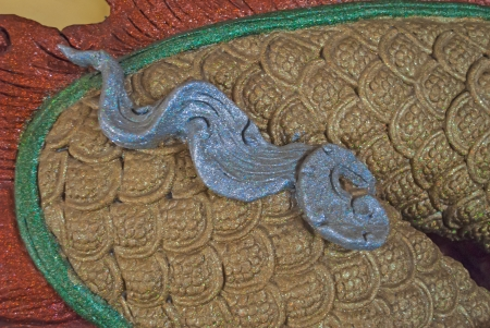 Texture of dragon Scales