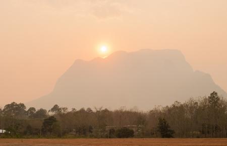 Sunset at Doi Luang Chiang Dao  Chiang Mai, Thailand