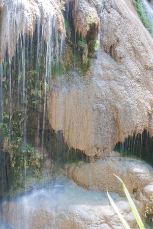 Ko-Luang waterfall at Mae Ping National Park Lamphun, Thailand.