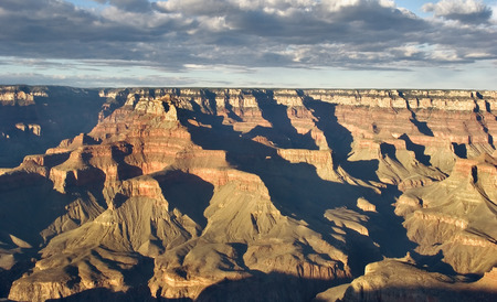 grandiose: A grandiose landscape of the Grand Canyon in the USA