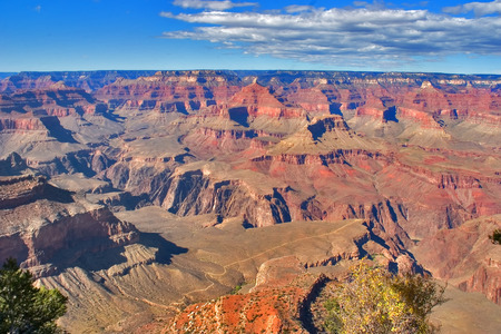 A grandiose landscape of the Grand Canyon in the USA photo
