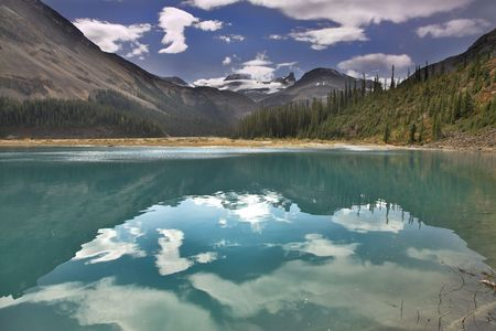 Dimply water in northern cold lake Stock Photo - 2448734
