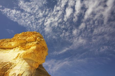 Natural formations from sandstone in the well-known gorge En-Avdat. Stock Photo - 2688130