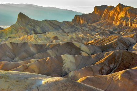 The most beautiful site of Death valley photo