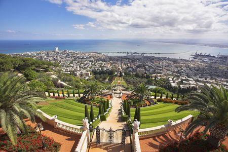 Landscape -  Haifa and Mediterranean sea photo