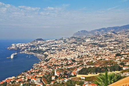 The capital of Madeira Island - Funchal city
