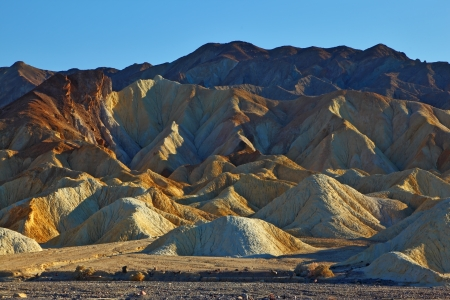 Picturesque site of desert Death Valley photo