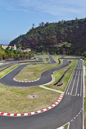 carting: The picturesque race track in the mountains of Madeira