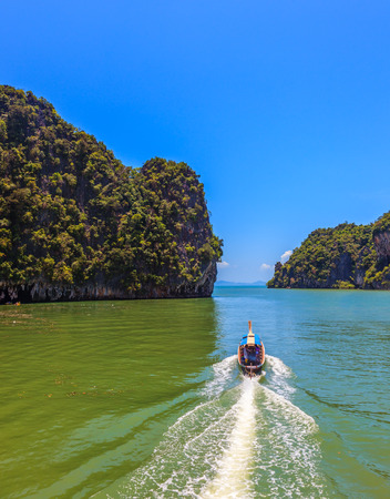 james: Fine rest in Thailand by native boats. The gulf in the Andaman Sea
