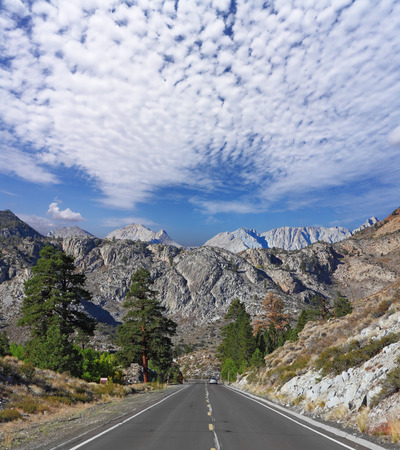 western united states: The majestic scenery in the mountains of the western United States. Gorgeous American Road