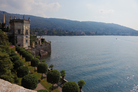 isola: Magnificent seafront. Park on the island of Isola Bella on Lake Maggiore
