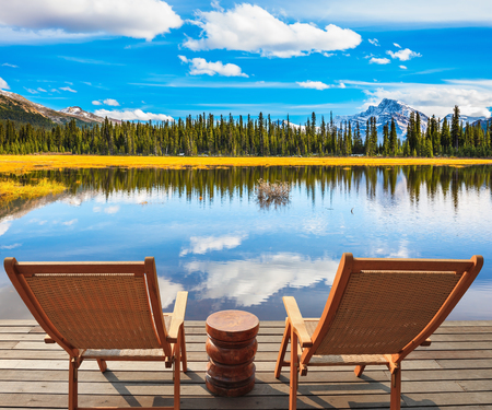 The Beautiful Nature In Northern Rocky Mountains Of Canada. .. Stock on chaise furniture, chaise sofa sleeper, chaise recliner chair,