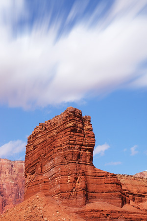 Sphinx of red sandstone in the valley of the Colorado River Reklamní fotografie