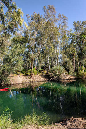 Israel. The Jordan River is the famous river in the world. In Christianity, Jordan is the place of the baptism of Christ
