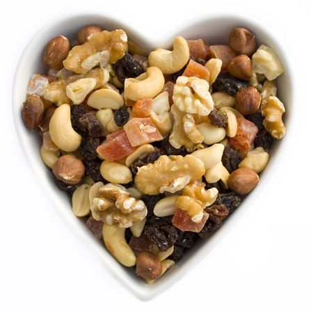 I heart fruits and nuts photo