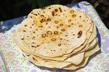 Traditional wheat Armenian lavash bread. Lavash is not just flatbread, it is part of history and culture, and it has its own legend.
