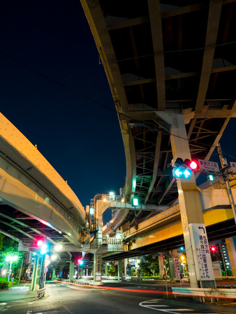 crossover: Junction in Japan Night view
