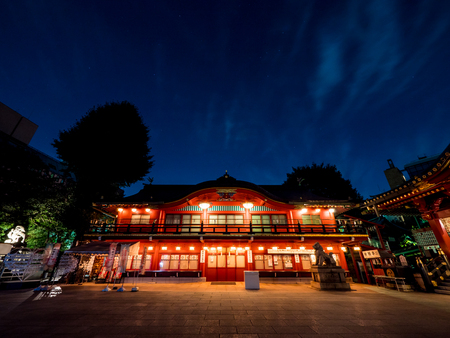 Japan Kanda Myojin night view