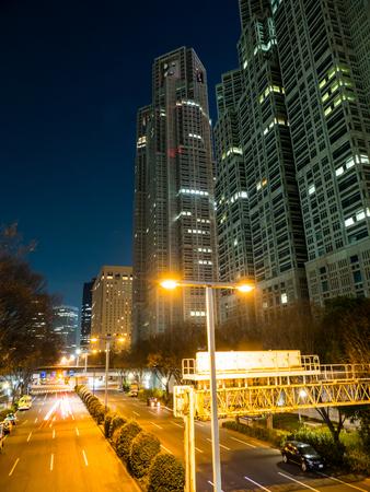 Japan Night view