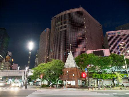 Tokyo Ginza night view