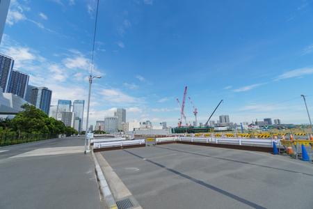 Harumi Olympic Village Geplande plaats, Tokyo Japan