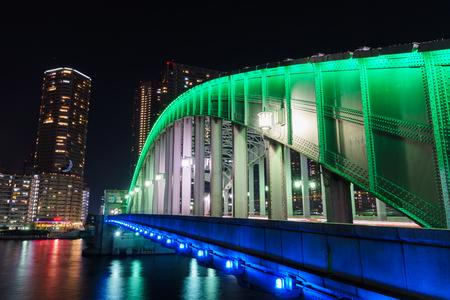 Bridge in Japan Stock Photo