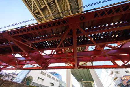 Bridge in Japan Standard-Bild
