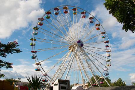 wallpaper image: ferris wheel
