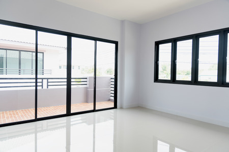 white room in a house
