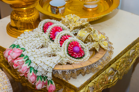 flower wheel for thai wedding