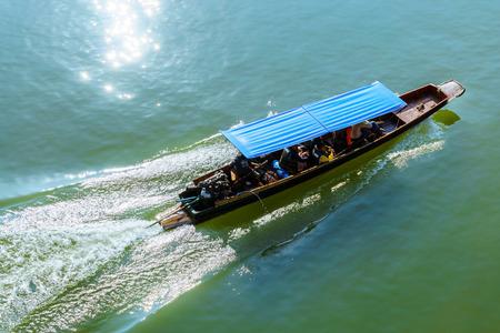 portage: express boat Editorial