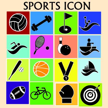swiming: icons
