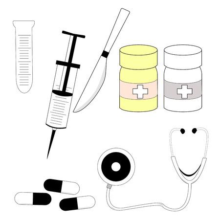 medical equipment: medical equipment Illustration