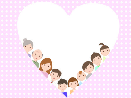 cousin: family Illustration