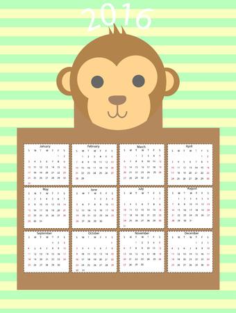 calend�rio: calendar Ilustra��o