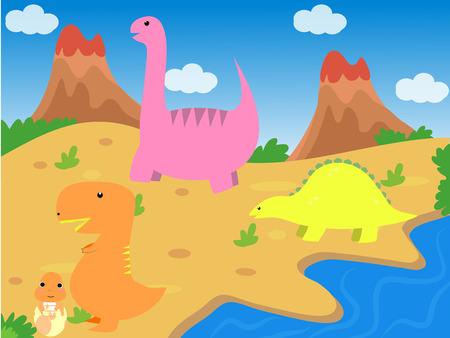 dinosaur Zdjęcie Seryjne - 48054961