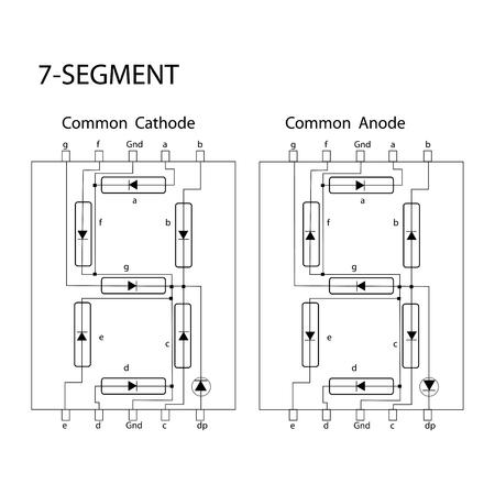 7-segment Zdjęcie Seryjne - 48055002