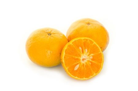 oranges isolated photo