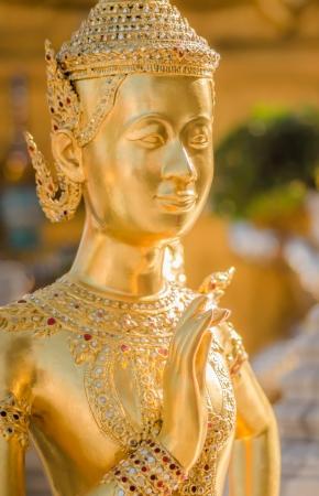 golden statue at Wat Pra Keaw Stock Photo - 17568309