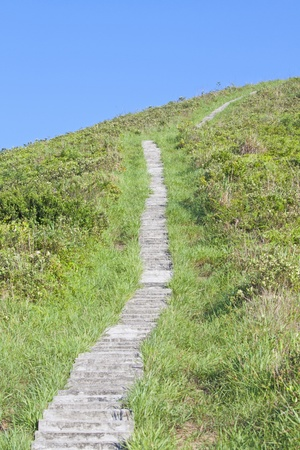 Hiking path photo
