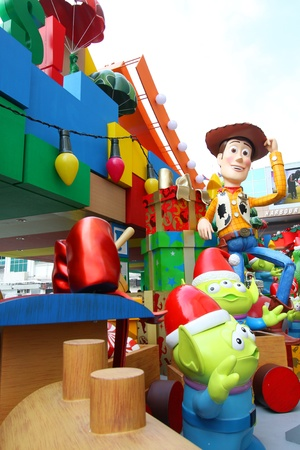 hong kong 13 nov toy story christmas decorations release in harbour city hong - Toy Story Christmas Special