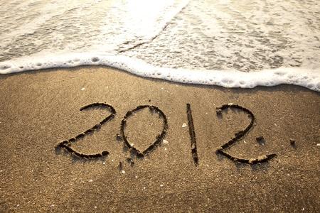 2012 written on sand photo