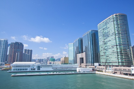 Hong Kong skyline and offices at day Stock Photo - 11701012