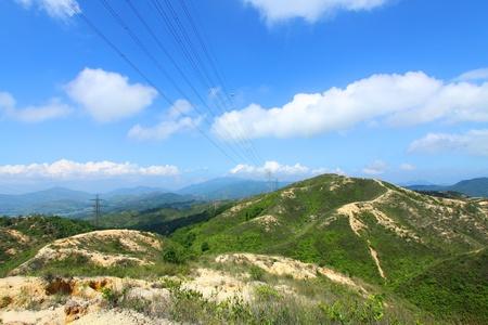 Mountain valley in Hong Kong Stock Photo - 11833309