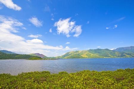 renamed: Coastal landscape in Hong Kong Geo Park, it is recently renamed as Global Geo Park.