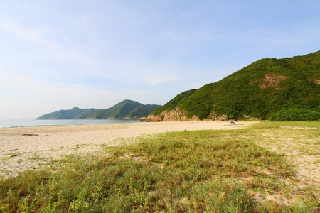 Ham Tin Wan beach in Hong Kong photo