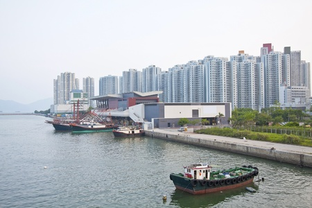 Tuen Mun, one of a Hong Kong downtown. Stock Photo - 11834719